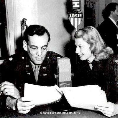 Irene Manning and Glenn Miller