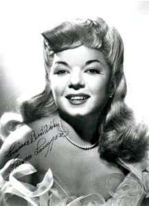 Frances Langford Portrate