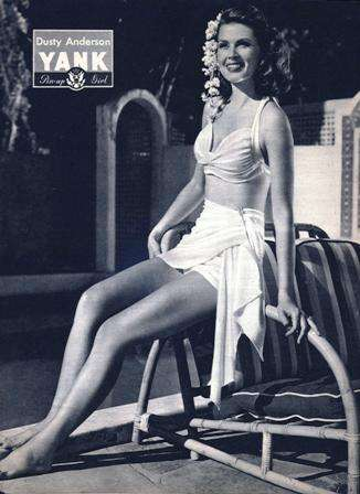 Yank Pin Up 27 October 1944 - Dusty Anderson