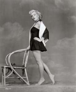 Gloria DeHaven Gorgeous Legs Pin UP