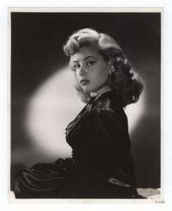 Gloria DeHaven Sultry Pin UP