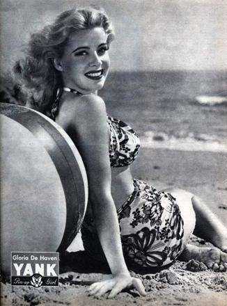 Gloria DeHaven Yank Pinup June 22, 1945