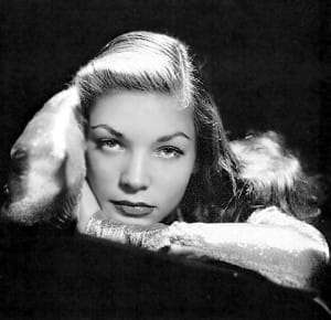 Lauren Bacall Glamour Gal