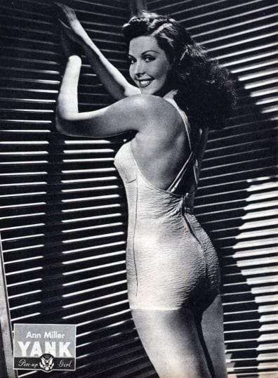 Ann Miller Yank Pin Up June 29. 1945