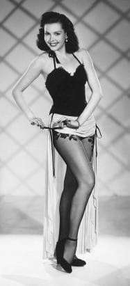 Yank Magazine Pin Up Ann Miller
