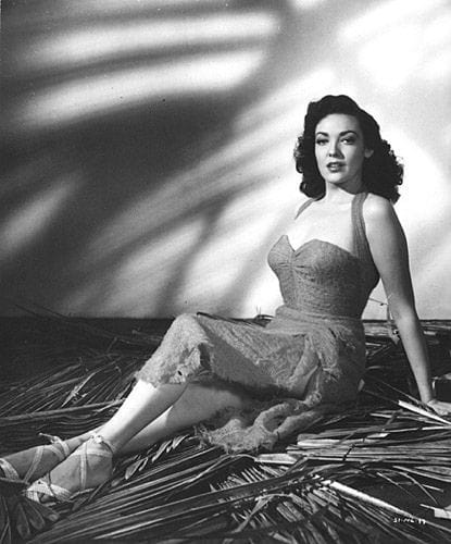 Stunning Pin Up Linda Darnell