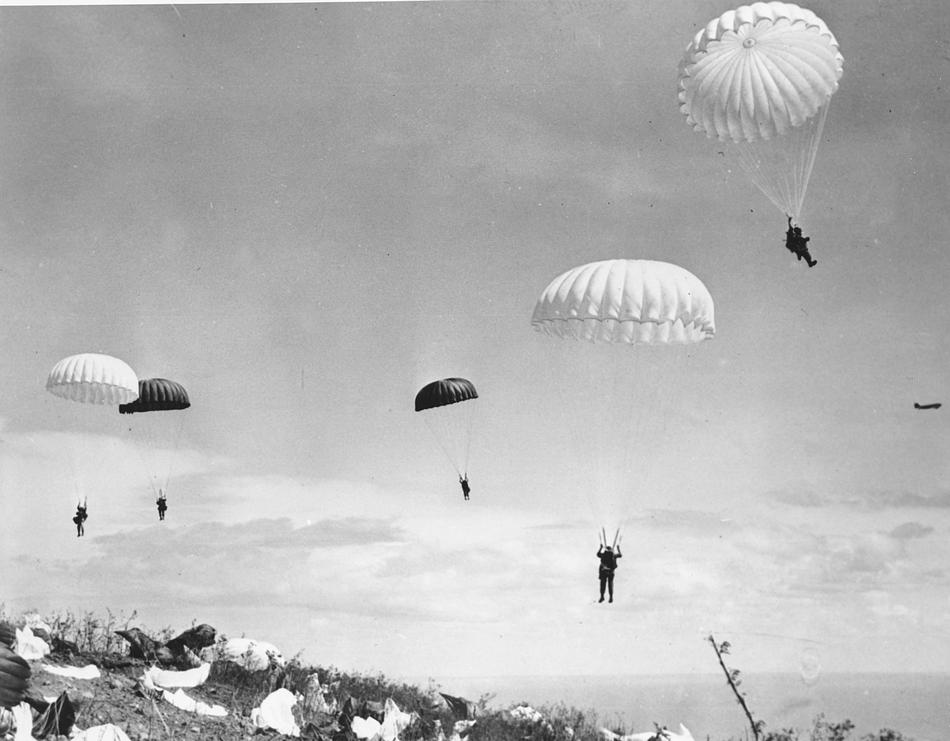 World War II Today: February 16 - U.S. paratroops land on Corregidor Island