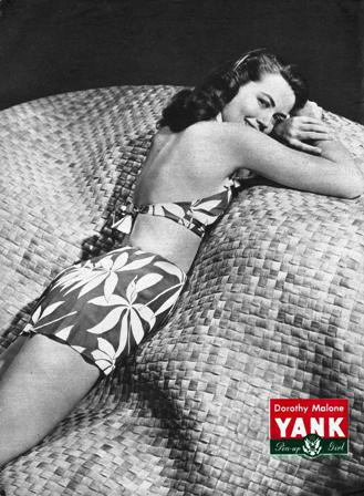 Dorothy Malone - YANK Pinup Girl - April 13, 1945