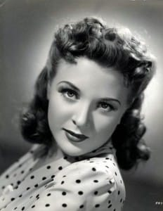 Evelyn Ankers Yank Pin Up Girl Head Shot