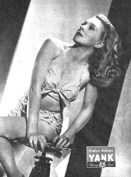 Evelyn Ankers - YANK Pinup Girl July 13, 1945