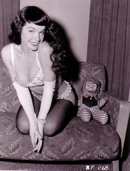 Pin Up Bettie Page