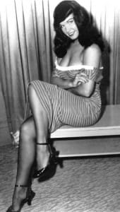 Stunning Bettie Page