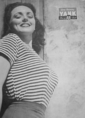 Lina Romay - YANK Magazine Pinup Girl - May 18, 1945
