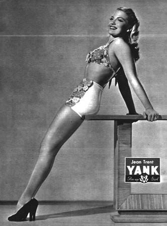Jean Trent YANK Pin Up: March 30, 1945