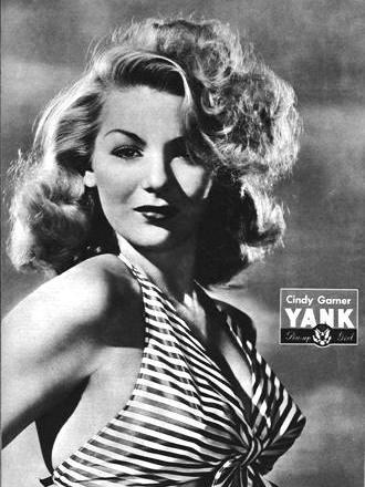 Cindy Garner WWII YANK Pinup Girl April 6th, 1945