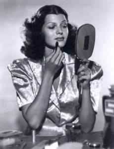 Ritay Hayworth Makeup