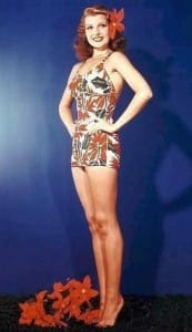 Rita Hayworth Swimsuit