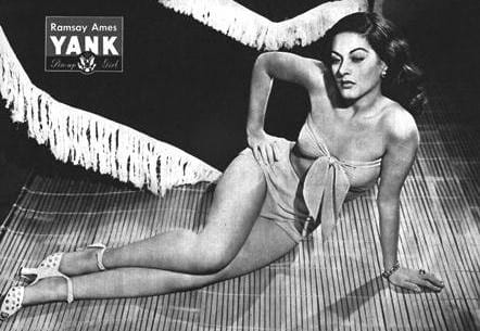 Ramsay Ames Yank Magazine Pin Up April 20, 1945