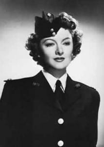 Myrna Loy in Uniform